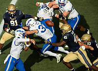 10/07/17 - The US Navy Midshipmen v. The Air Force Falcons Saturday afternoon October 7. 2017 at the Navy- Marine Corps Memorial Stadium in Annapolis, Md.<br /> <br /> Charlotte Photographer - PatrickSchneierPhoto.com