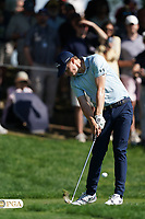 Matthew Fitzpatrick (ENG) on the 17th tee during the 3rd round at the PGA Championship 2019, Beth Page Black, New York, USA. 19/05/2019.<br /> Picture Fran Caffrey / Golffile.ie<br /> <br /> All photo usage must carry mandatory copyright credit (© Golffile | Fran Caffrey)