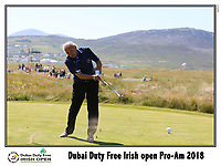 during the ProAm Day of the 2018 Dubai Duty Free Irish Open, Ballyliffin Golf Club, Ballyliffin, Co Donegal, Ireland.<br /> Picture: Golffile | Jenny Matthews<br /> <br /> <br /> All photo usage must carry mandatory copyright credit (&copy; Golffile | Jenny Matthews)
