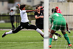 Dayna Stevens. OFC U-19 Women's Championship 2017, New Zealand v Fiji, Ngahue Reserve Auckland, Tuesday 11th July 2017. Photo: Simon Watts / www.bwmedia.co.nz