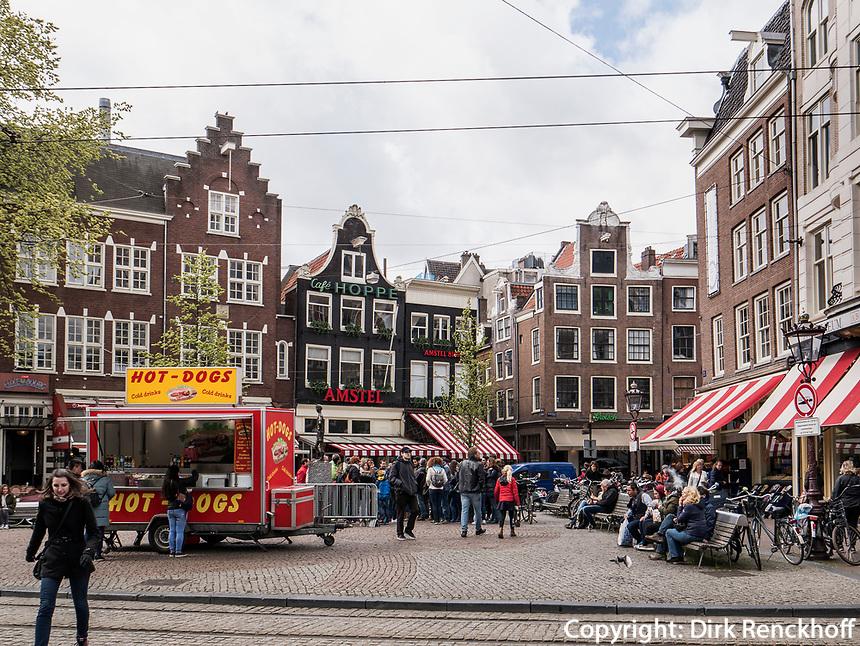 Spui, Platz in Amsterdam, Provinz Nordholland, Niederlande<br /> Spui, square in Amsterdam, Province North Holland, Netherlands
