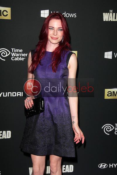 "Chloe Dykstra<br /> at ""The Walking Dead"" Season Four Premiere, AMC Universal Citywalk Stadium 19,  Universal City, CA 10-03-13<br /> Dave Edwards/DailyCeleb.com 818-249-4998"