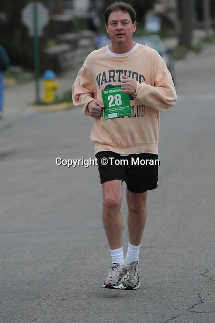 Second Annual Shamrock Run, Jeffersonville, Indiana,  March 16, 2010