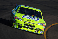 Apr 11, 2008; Avondale, AZ, USA; NASCAR Sprint Cup Series driver Paul Menard during practice for the Subway Fresh Fit 500 at Phoenix International Raceway. Mandatory Credit: Mark J. Rebilas-