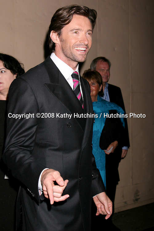 """Hugh Jackman arriving at """"A Fine Romance"""" benefiting the Motion Picture & Television Fund at Sony Studios in Culver City, CA on .November 8, 2008.©2008 Kathy Hutchins / Hutchins Photo...                . ."""