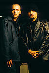 Various portrait sessions of the rock band, Godflesh.