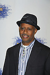 """All My Children & Another World Ruben Santiago-Hudson attends the Opening Night party of Signature Theatre Company's """"The Illusion"""" on June 5, 2001 at the West Bank Cafe with the play at the Peter Norton Space, New York City, New York.  (Photo by Sue Coflin/Max Photos)"""