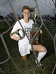Medina's Becca Chandler is the 2009 Gazette girls soccer MVP. (RON SCHWANE / GAZETTE)