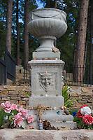 Calamity Jane's Gravestone at the Deadwood Cemetery in South Dakota