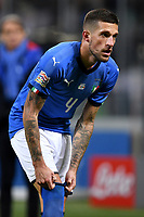 Cristiano Biraghi of Italy reacts during the Nations League League A group 3 football match between Italy and Portugal at stadio Giuseppe Meazza, Milano, November, 17, 2018 <br /> Foto Andrea Staccioli / Insidefoto