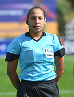 20200304  Parchal , Portugal : Venezolan Emikar Calderas pictured during the female football game between the national teams of Denmark and Norway on the first matchday of the Algarve Cup 2020 , a prestigious friendly womensoccer tournament in Portugal , on wednesday 4 th March 2020 in Parchal , Portugal . PHOTO SPORTPIX.BE | DAVID CATRY