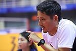 Junya Yano (JPN), <br /> AUGUST 30, 2018 - Sepak takroae : <br /> Women's Quadrant match between Japan - Vietnam<br /> at Jakabaring Sport Center Ranau Hall <br /> during the 2018 Jakarta Palembang Asian Games <br /> in Palembang, Indonesia. <br /> (Photo by Yohei Osada/AFLO SPORT)