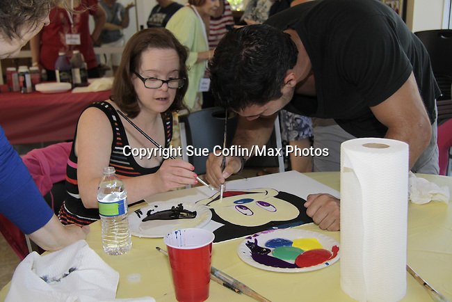 Ryan Paevey and Kelly - A Painting Party where actors and children and adults do paintings to be auctioned off at the Night of Stars and on the Marco Island Princess- Actors from Y&R, General Hospital and Days donated their time to Southwest Florida 16th Annual SOAPFEST - a celebrity weekend May 22 thru May 25, 2015 benefitting the Arts for Kids and children with special needs and ITC - Island Theatre Co. on May 23 , 2015 on Marco Island, Florida. (Photos by Sue Coflin/Max Photos)