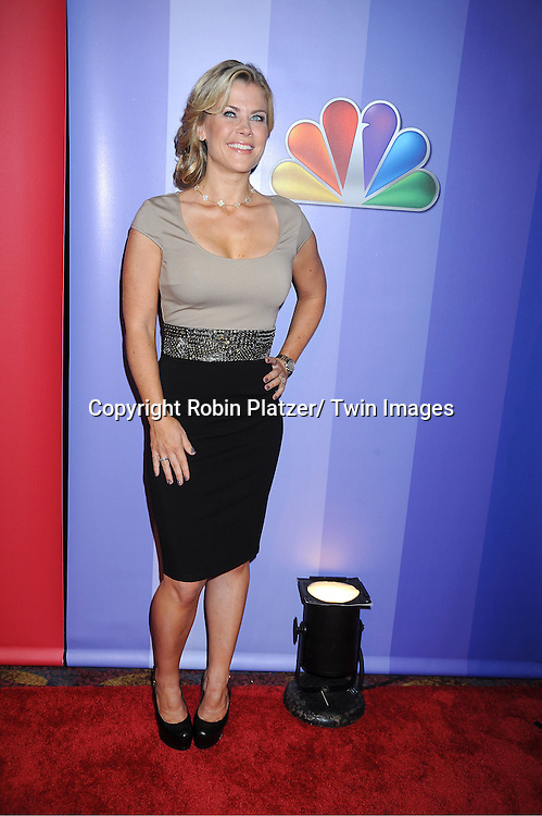 Alison Sweeney attending The NBC Upfront Presentation of the 2011-2012 Primetime Season on May 16, 2011 at The New York Hilton in New York City.