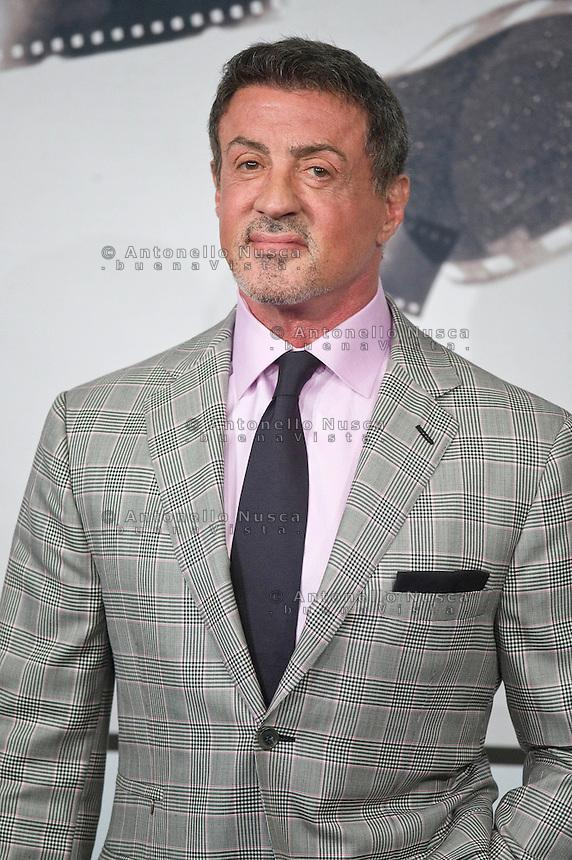Sylvester Stallone posa per il photocall del film 'Bullet To The Head' al Roma Film Festival all'Auditorium Parco Della Musica..