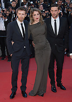 Antoine Reinartz, Adele Haenel &amp; Felix Maritaud at the premiere for &quot;120 Beats per Minute&quot; at the 70th Festival de Cannes, Cannes, France. 20 May  2017<br /> Picture: Paul Smith/Featureflash/SilverHub 0208 004 5359 sales@silverhubmedia.com