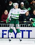 Stockholm 2015-01-06 Bandy Elitserien Hammarby IF - V&auml;ster&aring;s SK :  <br /> V&auml;ster&aring;s Jonas Nilsson firar sitt 2-2 m&aring;l under matchen mellan Hammarby IF och V&auml;ster&aring;s SK <br /> (Foto: Kenta J&ouml;nsson) Nyckelord:  Elitserien Bandy Zinkensdamms IP Zinkensdamm Zinken Hammarby Bajen HIF V&auml;ster&aring;s VSK jubel gl&auml;dje lycka glad happy