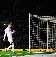 Leeds United's Patrick Bamford reacts after failing to convert a second half chance<br /> <br /> Photographer Chris Vaughan/CameraSport<br /> <br /> The EFL Sky Bet Championship - Leeds United v Sheffield Wednesday - Saturday 11th January 2020 - Elland Road - Leeds<br /> <br /> World Copyright © 2020 CameraSport. All rights reserved. 43 Linden Ave. Countesthorpe. Leicester. England. LE8 5PG - Tel: +44 (0) 116 277 4147 - admin@camerasport.com - www.camerasport.com