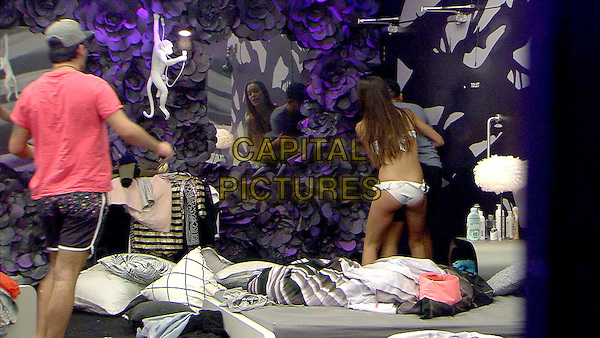 Celebrity Big Brother, Summer 2016, Day 30<br /> Emma and Ryan<br /> *Editorial Use Only*<br /> CAP/KFS<br /> Image supplied by Capital Pictures