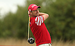Local golfer Liam Bond tees off on the 2nd hole during the second round of the ISPS Handa Wales Open 2013 at the <br /> Celtic Manor Resort<br /> 30.08.13<br /> <br /> ©Steve Pope-Sportingwales