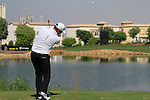 Peter Hanson tees off on the par3 6th tee during Day 1 of the Dubai World Championship, Earth Course, Jumeirah Golf Estates, Dubai, 25th November 2010..(Picture Eoin Clarke/www.golffile.ie)