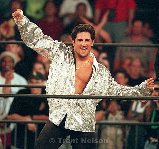Disco Inferno at WCW's Bash at the Beach.<br />