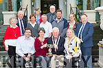 District Governor of Rotary Ireland Jerry Kierans presents The Sean Doyle Memorial Trophy Best Rotary Club Award for Youth Development Programme to Killarney Rotary club in the Malton Hotel on Wednesday front row l-r: Sean Tracey, Angela O'Connor Killarney President, Jerry Kierans, Conny Ovesen Assistant Governor, Back row  l-r: Nuala Kierans, James Tarrant, Katie O'Connell, Grace O'Neill, Barry murphy, Eduard Schmidt-Zorner, Tom Leslis, Ciara Irwin Foley, Paul Sheery