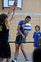 Volleyball Junior Boys Premier 2012 Upper Hutt v Porirua 24/10/2012<br />