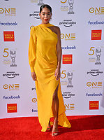 LOS ANGELES, CA. March 30, 2019: Laura Harrier at the 50th NAACP Image Awards.<br /> Picture: Paul Smith/Featureflash