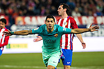 FC Barcelona's forward Luis Suarez celebrates after scoring a goal during the match of Copa del Rey between Atletico de  Madrid and Futbol Club Barcelona at Vicente Calderon Stadium in Madrid, Spain. February 1st 2017. (ALTERPHOTOS/Rodrigo Jimenez)