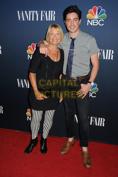 16 September 2014 - West Hollywood, California - Marcia Feldman, Ben Feldman. NBC and Vanity Fair 2014-2015 TV Season Event held at Hyde Sunset Kitchen.  <br /> CAP/ADM/BP<br /> &copy;Byron Purvis/AdMedia/Capital Pictures