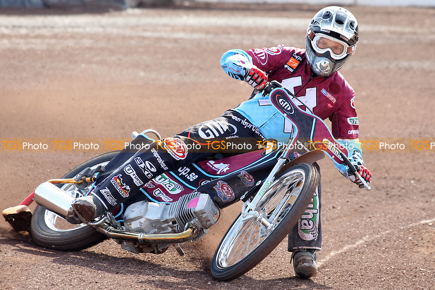 Joonas Kylmakorpi of Lakeside Hammers rides during practice - Lakeside Hammers Press & Practice Day at Arena Essex Raceway -  17/03/09 - MANDATORY CREDIT: Gavin Ellis/TGSPHOTO - Self billing applies where appropriate - Tel: 0845 094 6026