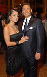 Dr. Michael Brown and his wife Rachel at the Una Notte in Italia dinner and fashion show at the InterContinental Hotel Friday Nov. 07, 2008. (Dave Rossman/For the Chronicle)