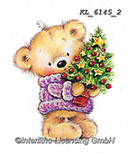 CHRISTMAS ANIMALS, WEIHNACHTEN TIERE, NAVIDAD ANIMALES, paintings+++++,KL6145/2,#xa#