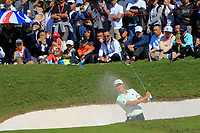 Haotong Li (CHN) on the 8th during the final round at the WGC HSBC Champions 2018, Sheshan Golf CLub, Shanghai, China. 28/10/2018.<br /> Picture Fran Caffrey / Golffile.ie<br /> <br /> All photo usage must carry mandatory copyright credit (&copy; Golffile | Fran Caffrey)