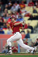 February 28 2010: Joe De Pinto of USC during game against UCLA at Dodger Stadium in Los Angeles,CA.  Photo by Larry Goren/Four Seam Images