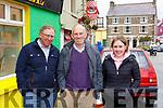 Ger Donovan, John and Eileen Rice at the Kilgarvan vintage on Sunday