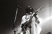PETER TOSH - performing live on the Mama Africa Tour at Espace Balard in Paris France - 04 Oct 1983.  Photo credit: Pierre Terrasson/Dalle/IconicPix