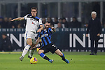 Mario Pasalic of Atalanta is challenged by Marcelo Brozovic of Inter during the Serie A match at Giuseppe Meazza, Milan. Picture date: 11th January 2020. Picture credit should read: Jonathan Moscrop/Sportimage