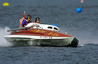 """A brand new replica of a bygone era, the boat """"Golden Days""""."""