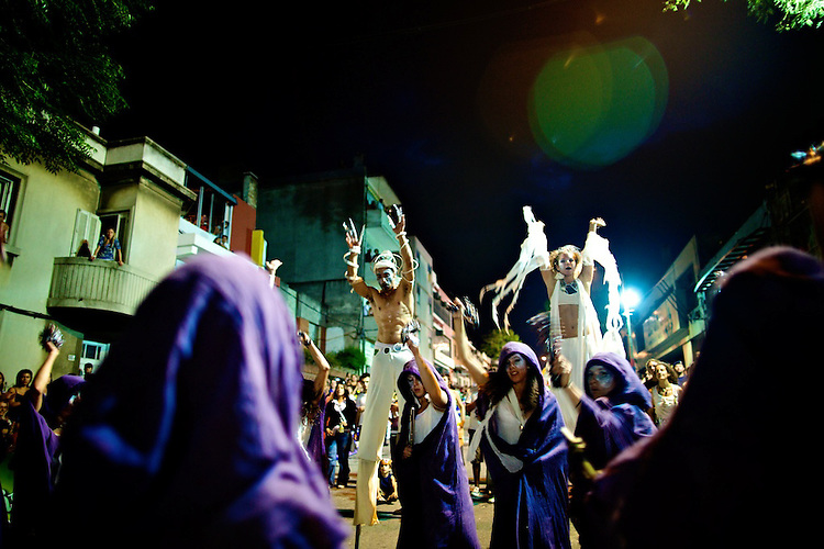 La Melaza.  Salida de Llamadas 2009.