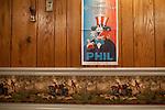 Seen inside the Elks Grand Lodge in Punxsutawney, Pennsylvania following Punxsutawney Phil's prediction for a longer winter February 2, 2012.