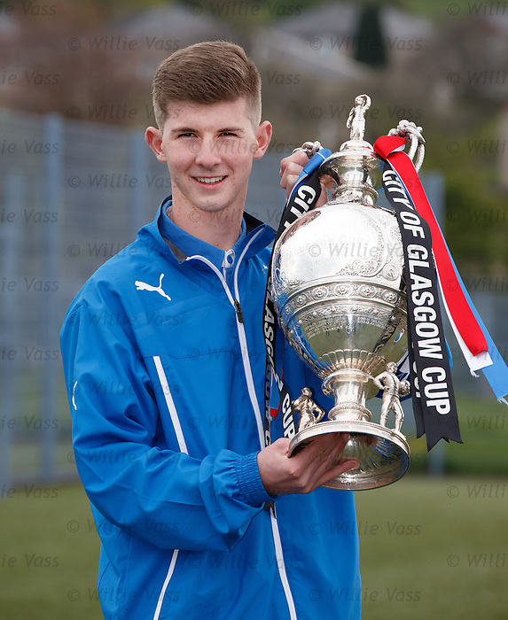 Glasgow cup final preview: Rangers captain David Brownlie