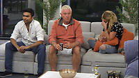 Celebrity Big Brother 2017<br /> Karthik Nagesan, Derek Acorah  and Sarah Harding.<br /> *Editorial Use Only*<br /> CAP/KFS<br /> Image supplied by Capital Pictures