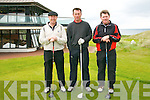 Ballybunion  Scratch Cup : Taking part in the Ballybunion Golf Club Scratch Cup on Saturday last were Joe Lyons, Peter Sheehan & Declan McInerney.