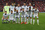 TSG 1899 Hoffenheim team group before the Champions League playoff round at the Anfield Stadium, Liverpool. Picture date 23rd August 2017. Picture credit should read: Lynne Cameron/Sportimage