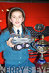 OVERALL WINNER: Maria Daly, Scoil Eoin, Balloonagh, overall winner of the 'Toyota Car of the Future' prize   Copyright Kerry's Eye 2008