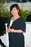 Lynne Ramsay at the Palme d'Or Awards photocall for the 70th Festival de Cannes, Cannes, France. 28 May 2017<br /> Picture: Paul Smith/Featureflash/SilverHub 0208 004 5359 sales@silverhubmedia.com