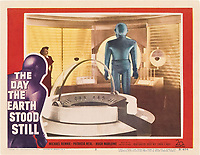 The Day the Earth Stood Still (1951) <br /> Lobby card<br /> *Filmstill - Editorial Use Only*<br /> CAP/KFS<br /> Image supplied by Capital Pictures