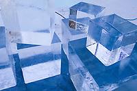 Ice sculpture, 2004 World Ice Art Championships in Fairbanks, Alaska